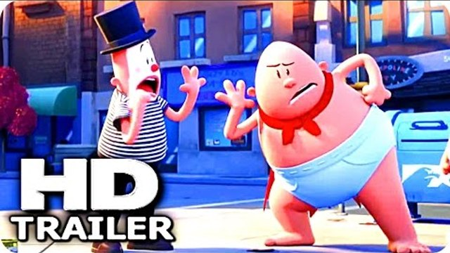 "CAPTAIN UNDERPANTS ""Super Dumb"" Trailer (2017) The First Epic Movie Animation HD"