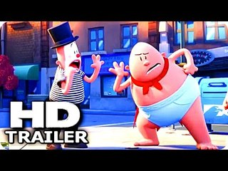 """CAPTAIN UNDERPANTS """"Super Dumb"""" Trailer (2017) The First Epic Movie Animation HD"""