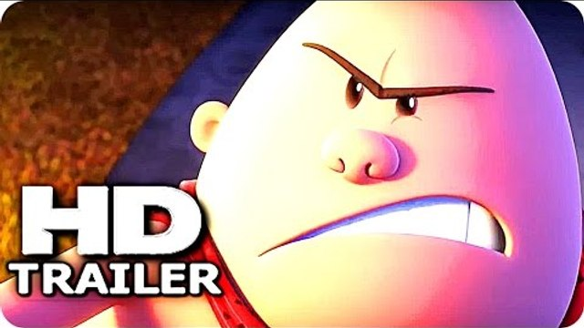 CAPTAIN UNDERPANTS: The First Epic Movie TRAILER 1 + 2 (2017) Kevin Hart Animated Comedy Movie HD