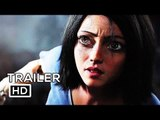 ALITA: BATTLE ANGEL Official Trailer (2018) Jennifer Connelly, Eiza González Sci-Fi Action Movie HD
