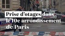 Paris : prise d'otages en cours dans le 10e arrondissement
