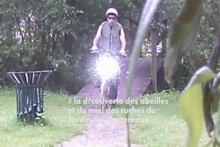 Le Petit Vélo Jaune fait son miel aux Jardins des Portereaux (1)
