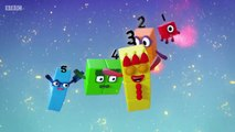 Numberblocks Fluffies (S01E27) 2017 learn the numbers Preschool