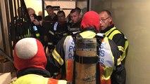 Exercice des pompiers à la Tour d'Armor