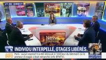 Prise d'otages à Paris: l'auteur placé en garde à vue (1/2)