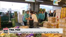:  Voting underway in South Korea's local elections