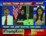 Singapore US Prez Donald Trump & North Korean leader Kim Jong-Un holds bilateral talk