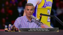 LaVar Ball on Lonzo's diss track deterring LeBron to Lakers, His beef with Magic | NBA | THE HERD