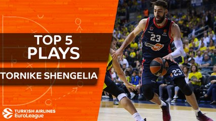 Top 5 plays, Tornike Shengelia, All-EuroLeague First Team
