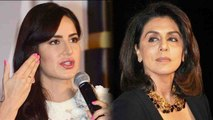 Katrina Kaif IGNORES Ex Boyfriend Ranbir Kapoor's  Mother Neetu Kapoor ; Here's Why   FilmiBeat