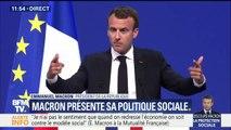 """Macron sur les retraites : """"Nous avons 42 régimes. Ces petites différences et petites inégalités (...) ne correspondent plus au défi contemporain"""""""