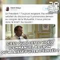 C'est quoi cette vidéo d'Emmanuel Macron qu'a laissé fuiter l'Élysée ?