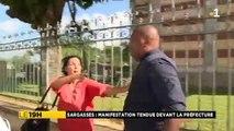Fort-de-France : Les images chocs de l'agression d'un journaliste reporter d'images de France Télévisions par un policier