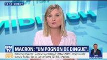 """Emmanuel Macron: """"Un pognon de dingue"""""""
