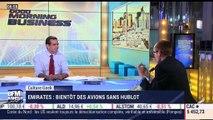 Anthony Morel: Bientôt des avions sans hublots chez Emirates - 14/06
