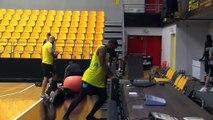 Mamadou le capitaine de Fos Provence Basket