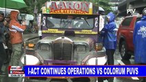 I-ACT continues operations vs. colorum PUVs