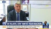"""""""Ce n'est pas parce qu'on est amis qu'on est aligné. Il est capable de tout entendre"""", déclare De Villiers à propos de Macron"""