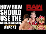 How WWE Raw Should Use The Cruiserweights | Fin Martin Report Podcast Mini