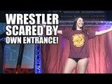 WRESTLER SCARED BY OWN ENTRANCE! | Southside Wrestling