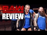 WWE Smackdown INVADES Raw! Brock Lesnar & Goldberg Confrontation! | WWE RAW 11/14/16 Review
