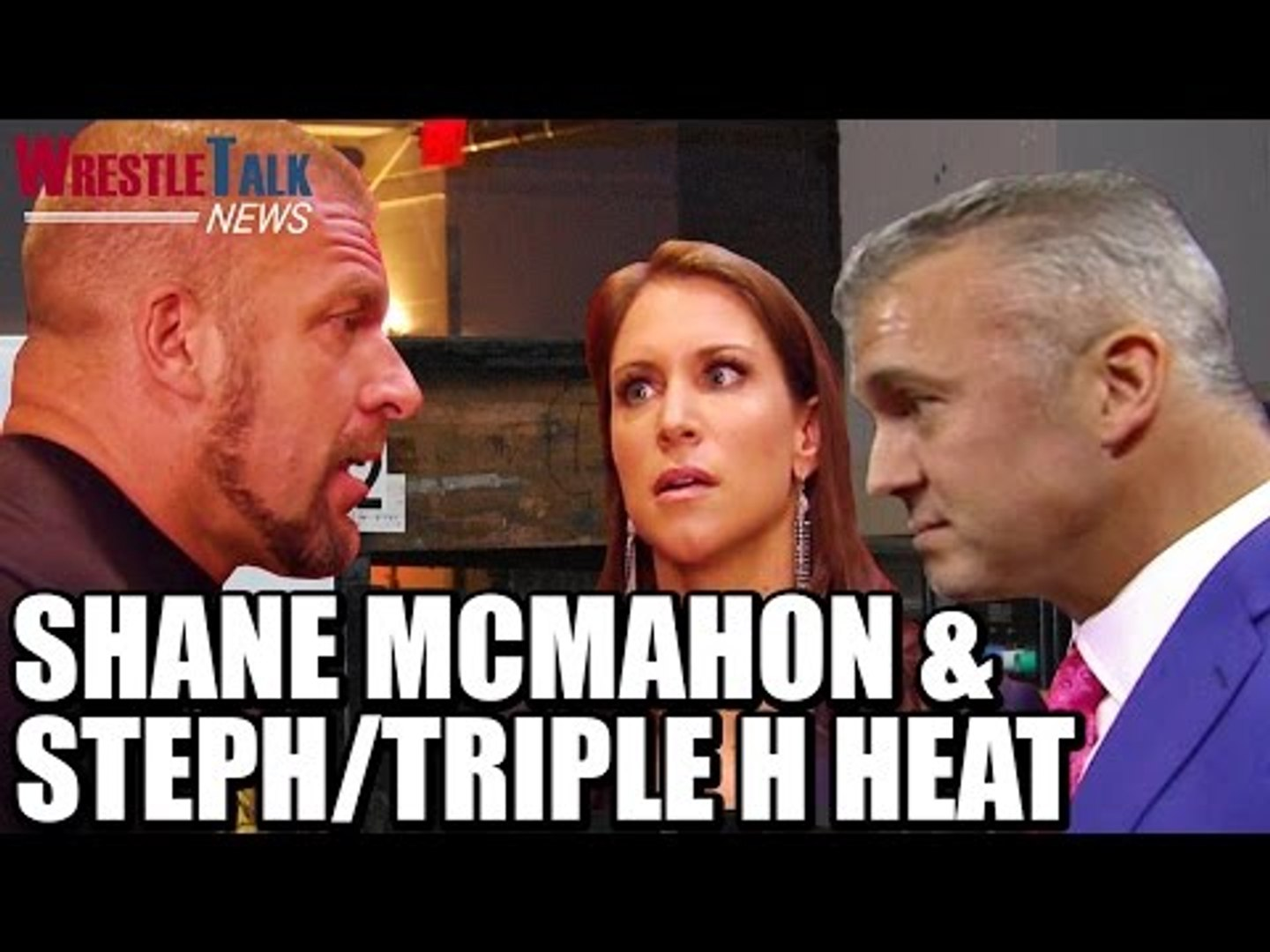 Shane & Steph/HHH Heat Backstage! Another WWE Talent Released!  | WrestleTalk News