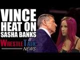 Vince McMahon Heat On Sasha Banks! Hulk Hogan Responds To WWE Return Rumors! | WrestleTalk News
