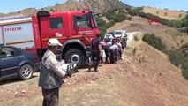 Manisa Salihli Otomobil Uçuruma Yuvarlandı 1 Ölü, 3 Yaralı Hd