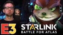 E3 2018 : Starlink sur Switch, l'anti-claque visuelle, nos impressions manette en main