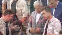 Gümüşhane -Başbakan Yıldırım Gümüşhane -Bayburt Havalimanı Temel Atma Töreninde Konuştu -1
