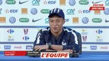 Mbappé est «prêt à accueillir de bons joueurs au PSG» - Foot - CM 2018 - Bleus