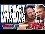 Brock Lesnar OFF WWE Until Summerslam?! TNA Impact Working With WWE! | WrestleTalk News May 2018