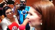 #NacionalCri El ex mandatario Ricardo Martinelli se encuentra sedado, dice Marta Linares de Martinelli. Video: Jorge Luis Barría.