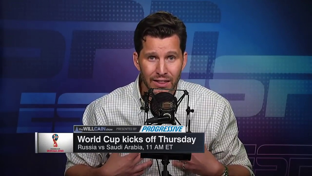Comparing World Cup teams to college football teams: Is England Notre Dame? | Will Cain Show | ESPN