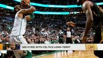 Would Celtics trade Kyrie Irving for Kawhi Leonard? | The Jump | ESPN