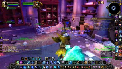 TMUS WoW MA ep 109 2018-05-17 On my Mage doing the Mail Quest and OBS flubs up