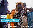 Au nom de tous les enfants, nous disons « L'eau  est un droit, pas un privilège ».Partagez svp si vous êtes d'accord #WWWeek