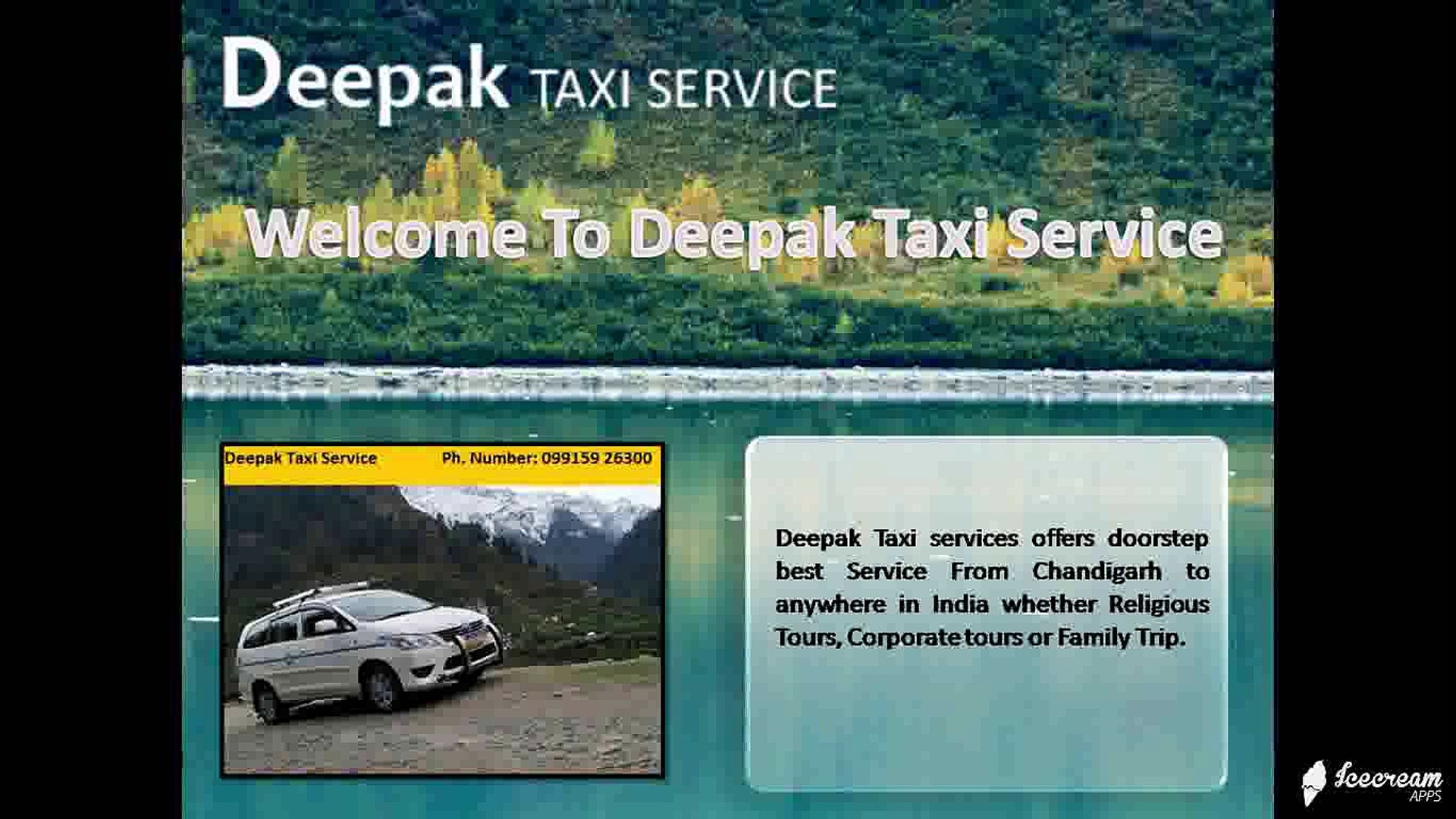 Taxi Service Manali - video dailymotion