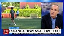 """""""Não é fácil para Hierro tirar o plano da cabeça de Lopetegui para o campeonato do mundo"""""""