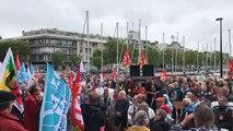 Manifestation des retraités du Morbihan contre l'augmentation de la CSG