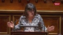 Eliane Assassi : « J'ai trouvé particulièrement honteux des propos d'un sénateur qui a vomi sa haine des cheminots et des communistes »