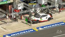 Little fright for the #93 Porsche - 24 Heures du Mans