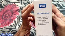 Wd Elements Portable External Hard Drive Review and unboxing 2 year use experience...