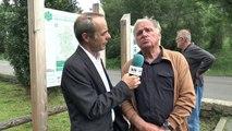 Alpes-de-Haute-Provence : sur la dalle à ammonites de Digne-les-Bains