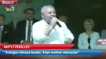 'Cumhur İttifakı'nın MHP'li adayından AKP'ye sert sözler: Muhtar olamazlar