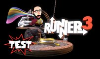 Test de RUNNER 3, la plate-forme musicale