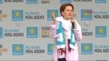 Mardin- İyi Parti Cumhurbaşkanı Adayı Meral Akşener Mardin'de Konuştu -2
