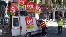 Manifestation de retraités Avignon