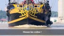 Bordeaux accueille les plus grands voiliers au monde