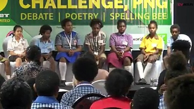 The Em Stret School Challenge entered its second day of Spelling Bee Competition today.The Spelling Bee competition aims to enhance student's spelling and pron